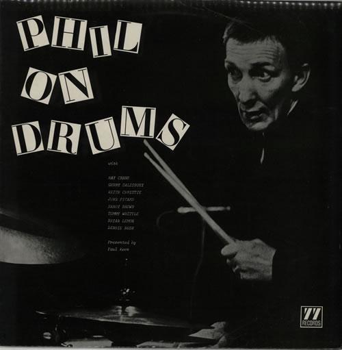 Phil Seamen Phil On Drums Uk Vinyl Lp Album Lp Record