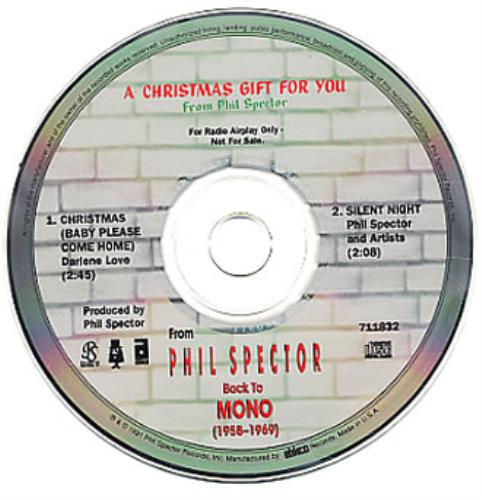 A Christmas Gift For You From Phil Spector.Phil Spector A Christmas Gift For You Sampler Us Promo Cd