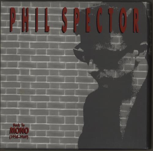 Phil Spector Back To Mono 1958 1969 Us Cd Album Box Set