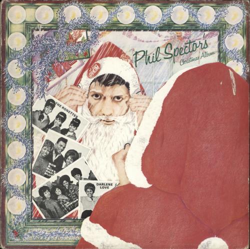 Ronettes Christmas.Phil Spector Phil Spector S Christmas Album Poster Uk