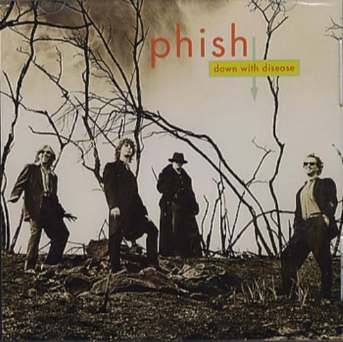 "Phish Down With Disease CD single (CD5 / 5"") US PHSC5DO358855"