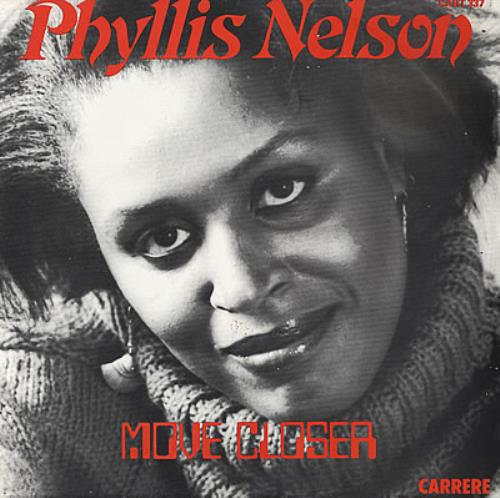 "Phyllis Nelson Move Closer 12"" vinyl single (12 inch record / Maxi-single) UK PHY12MO51012"