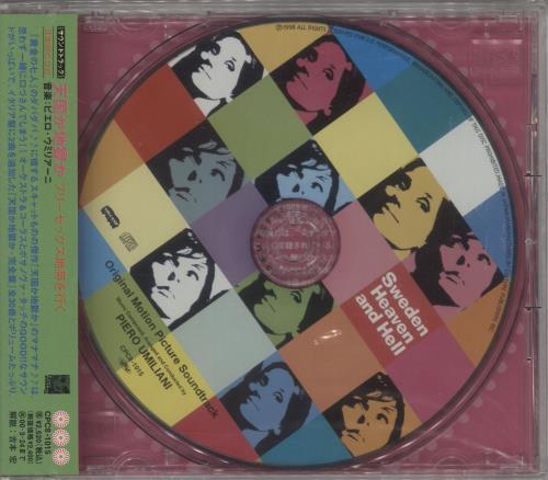 Piero Umiliani Sweden Heaven And Hell - Sealed CD album (CDLP) Japanese PIUCDSW723327