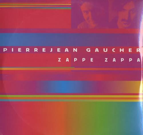 Pierrejean Gaucher Zappe Zappa - Sealed 2-LP vinyl record set (Double Album) German PJG2LZA399057