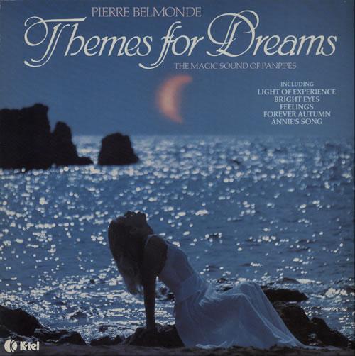 Pierre Belmonde Themes For Dreams vinyl LP album (LP record) UK P4FLPTH577807