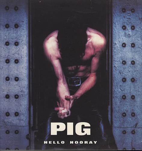 """Pig Hello Hooray 12"""" vinyl single (12 inch record / Maxi-single) Italian PIG12HE391478"""