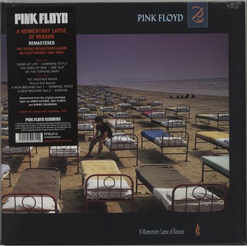 Pink Floyd A Momentary Lapse Of Reason - 180 Gram - Sealed vinyl LP album (LP record) UK PINLPAM677224