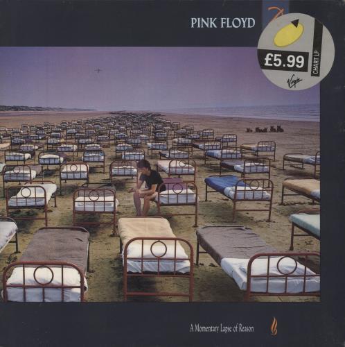 Pink Floyd A Momentary Lapse Of Reason - EX vinyl LP album (LP record) UK PINLPAM152441