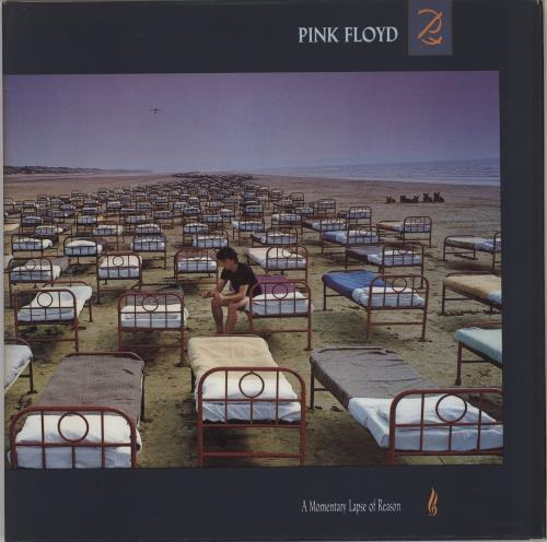 Pink Floyd A Momentary Lapse Of Reason vinyl LP album (LP record) UK PINLPAM569366