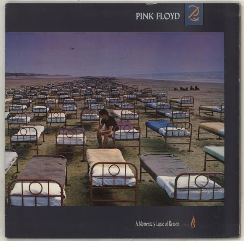 Pink Floyd A Momentary Lapse Of Reason vinyl LP album (LP record) Greek PINLPAM716992