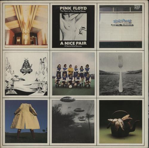 Pink Floyd A Nice Pair - 1st - EX 2-LP vinyl record set (Double Album) UK PIN2LAN409569