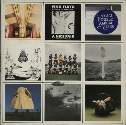 Pink Floyd A Nice Pair - 1st - Stickered 2-LP vinyl record set (Double Album) UK PIN2LAN272047