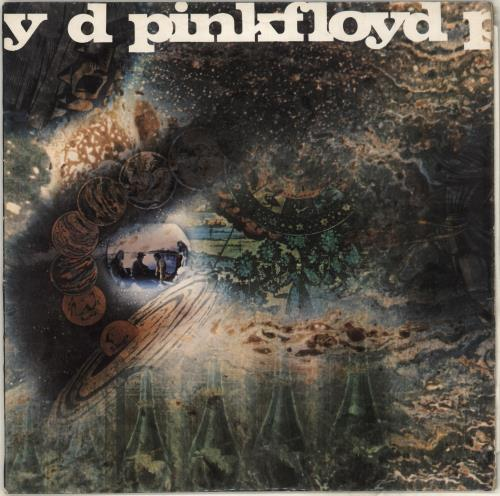 Pink Floyd A Saucerful Of Secrets - 1st - EX vinyl LP album (LP record) UK PINLPAS372586
