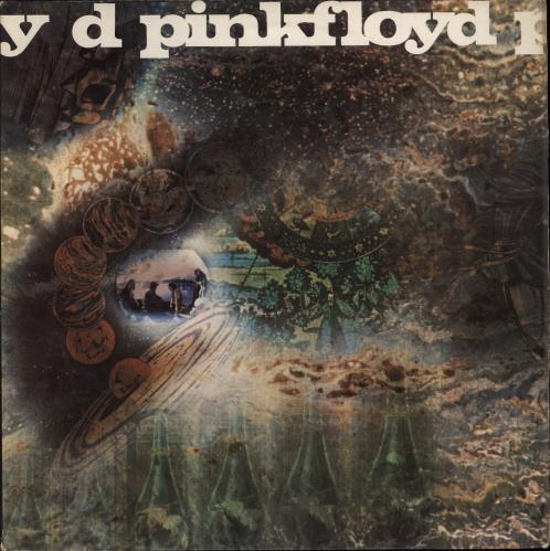 Pink Floyd A Saucerful Of Secrets - 1st - VG vinyl LP album (LP record) UK PINLPAS578624
