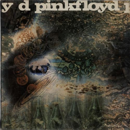 Pink Floyd A Saucerful Of Secrets - 1st Export vinyl LP album (LP record) UK PINLPAS624138