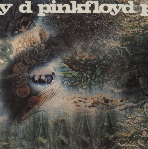 Pink Floyd A Saucerful Of Secrets - 5th vinyl LP album (LP record) UK PINLPAS753264