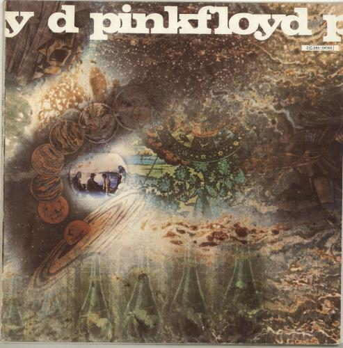 Pink Floyd A Saucerful Of Secrets - 6th Pressing vinyl LP album (LP record) French PINLPAS702587