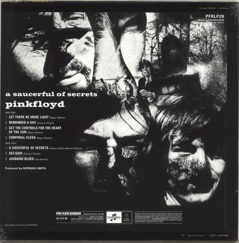 Pink Floyd A Saucerful Of Secrets - RSD19 - 180gm Vinyl - Sealed vinyl LP album (LP record) UK PINLPAS718417