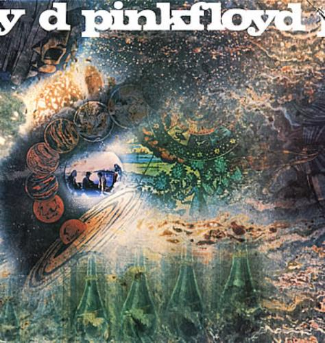 Pink Floyd A Saucerful Of Secrets vinyl LP album (LP record) UK PINLPAS291025