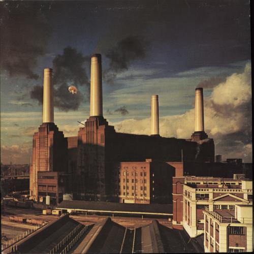 Pink Floyd Animals - 1st - VG vinyl LP album (LP record) UK PINLPAN570482