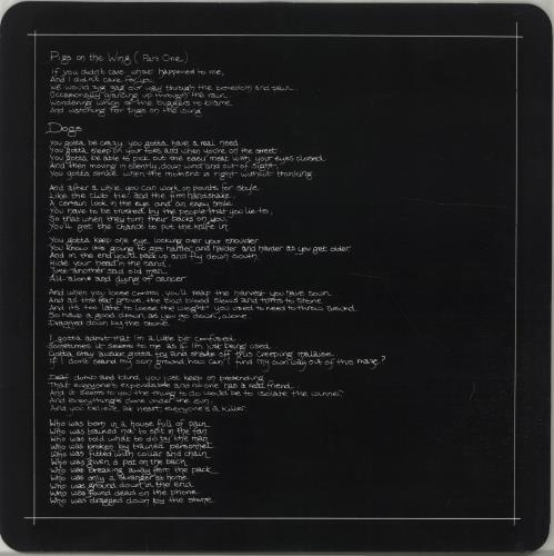 Pink Floyd Animals - 2nd vinyl LP album (LP record) UK PINLPAN655483