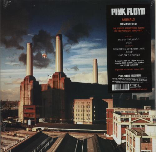 Pink Floyd Animals - Remastered - Sealed vinyl LP album (LP record) UK PINLPAN677222