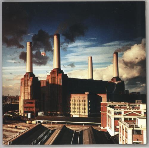 Pink Floyd Animals - Remastered vinyl LP album (LP record) UK PINLPAN726733