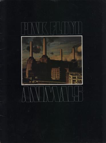 Pink Floyd Animals tour programme UK PINTRAN188701