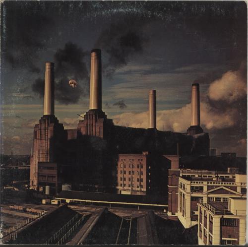 Pink Floyd Animals vinyl LP album (LP record) Italian PINLPAN586411