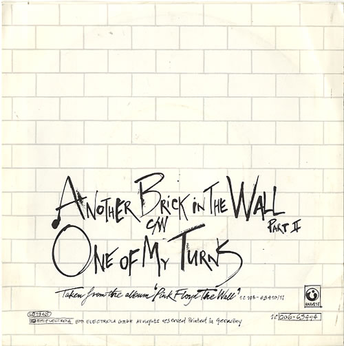 "Pink Floyd Another Brick In The Wall - Desimpel 7"" vinyl single (7 inch record) Dutch PIN07AN628920"