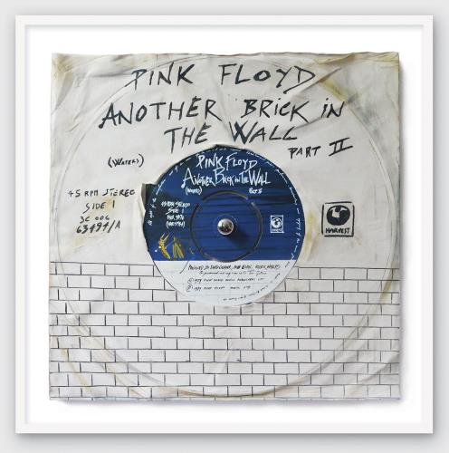 Pink Floyd Another Brick In The Wall Part 2 - SuperSizeArt Numbered Print artwork UK PINARAN731096