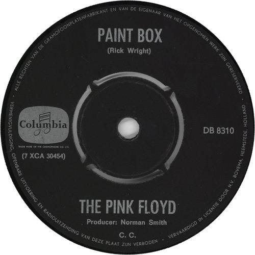 "Pink Floyd Apples And Oranges 7"" vinyl single (7 inch record) Dutch PIN07AP712932"