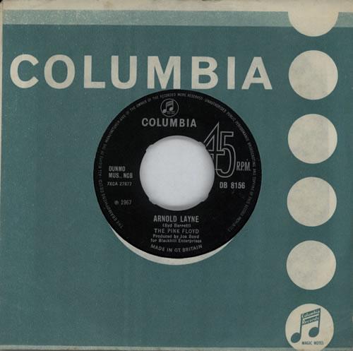 "Pink Floyd Arnold Layne - NOC 7"" vinyl single (7 inch record) UK PIN07AR569527"