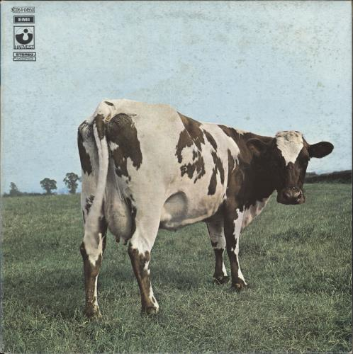 Pink Floyd Atom Heart Mother - 3rd vinyl LP album (LP record) Italian PINLPAT512891