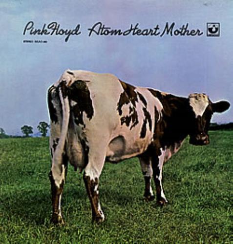 Pink Floyd Atom Heart Mother - 3rd vinyl LP album (LP record) US PINLPAT91494