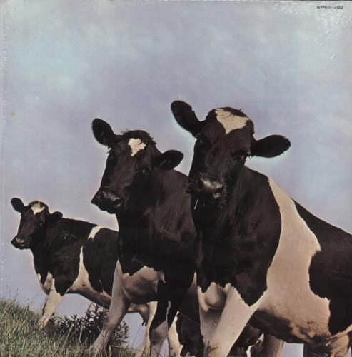 Pink Floyd Atom Heart Mother - 5th - LA - Shrink vinyl LP album (LP record) US PINLPAT737931