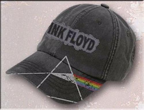 Pink Floyd Dark Side Of The Moon Heavy Washed Baseball Cap