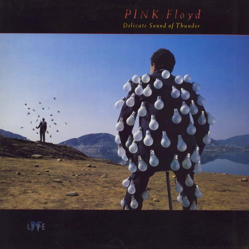 Pink Floyd Delicate Sound Of Thunder - EX 2-LP vinyl record set (Double Album) UK PIN2LDE543367