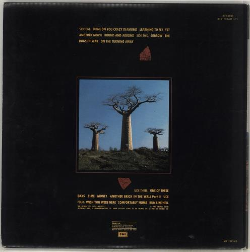 Pink Floyd Delicate Sound Of Thunder 2-LP vinyl record set (Double Album) Greek PIN2LDE716976