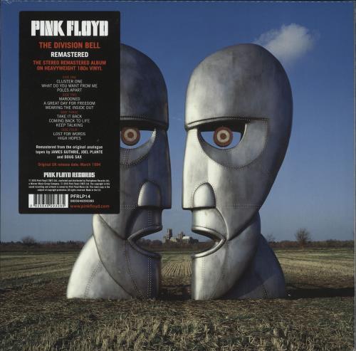 Pink Floyd Division Bell - Remastered - Sealed 2-LP vinyl record set (Double Album) UK PIN2LDI724275