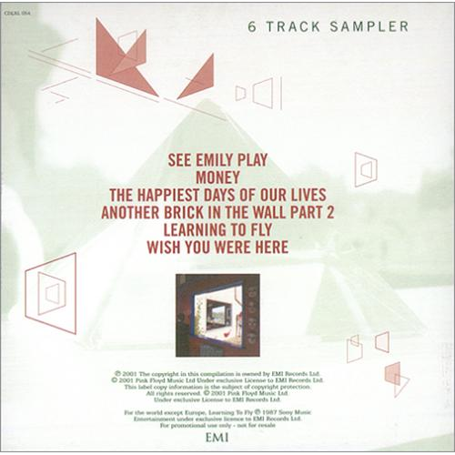 "Pink Floyd Echoes Sampler CD single (CD5 / 5"") UK PINC5EC201201"