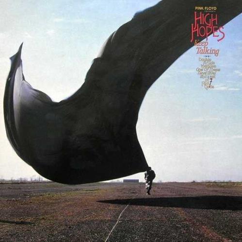 "Pink Floyd High Hopes - Etched Blue Vinyl - Complete - EX 12"" vinyl single (12 inch record / Maxi-single) UK PIN12HI318620"