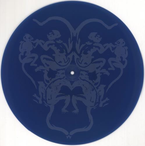 "Pink Floyd High Hopes - Etched Blue Vinyl - EX 12"" vinyl single (12 inch record / Maxi-single) UK PIN12HI722731"