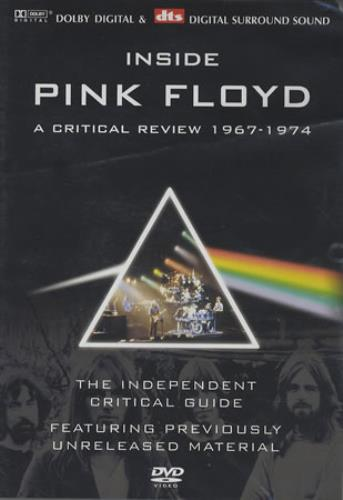 Pink Floyd Inside Pink Floyd DVD UK PINDDIN366125