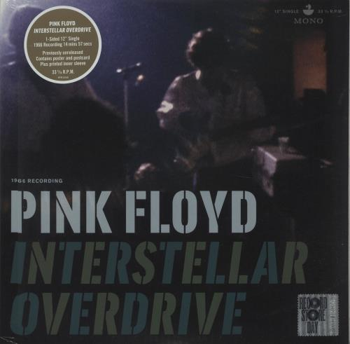 "Pink Floyd Interstellar Overdrive - RSD17 - Sealed 12"" vinyl single (12 inch record / Maxi-single) UK PIN12IN671668"
