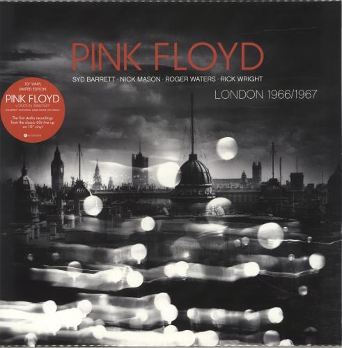 "Pink Floyd London 1966/1967 - Sealed 10"" vinyl single (10"" record) UK PIN10LO690371"
