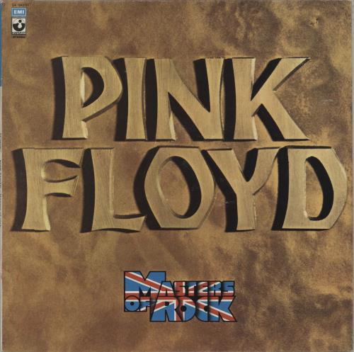 Pink Floyd Masters Of Rock vinyl LP album (LP record) Italian PINLPMA673134