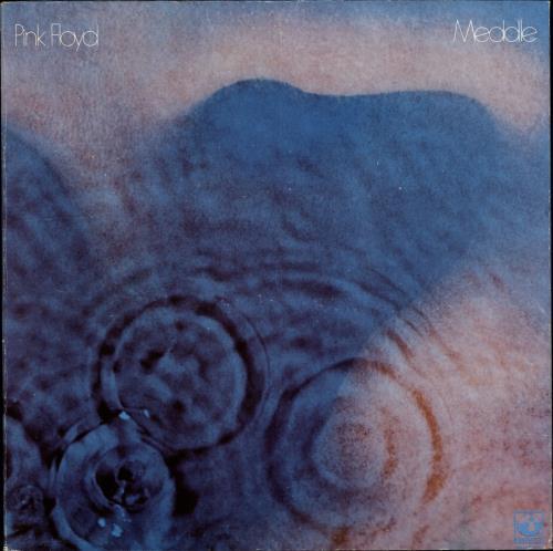 Pink Floyd Meddle - 2nd vinyl LP album (LP record) US PINLPME704517
