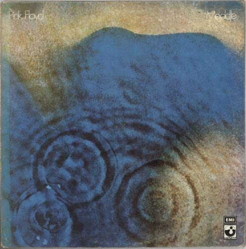 Pink Floyd Meddle Greek vinyl LP album (LP record) (662405)