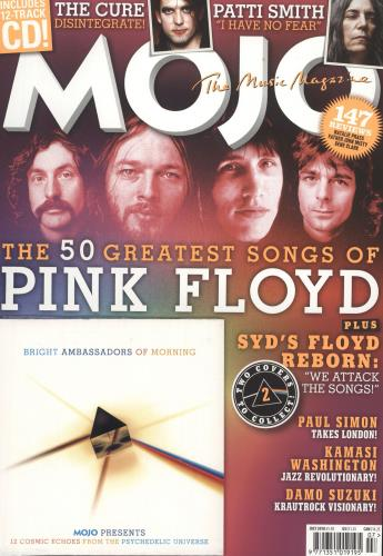 Pink Floyd Mojo - January 2018 magazine UK PINMAMO717118
